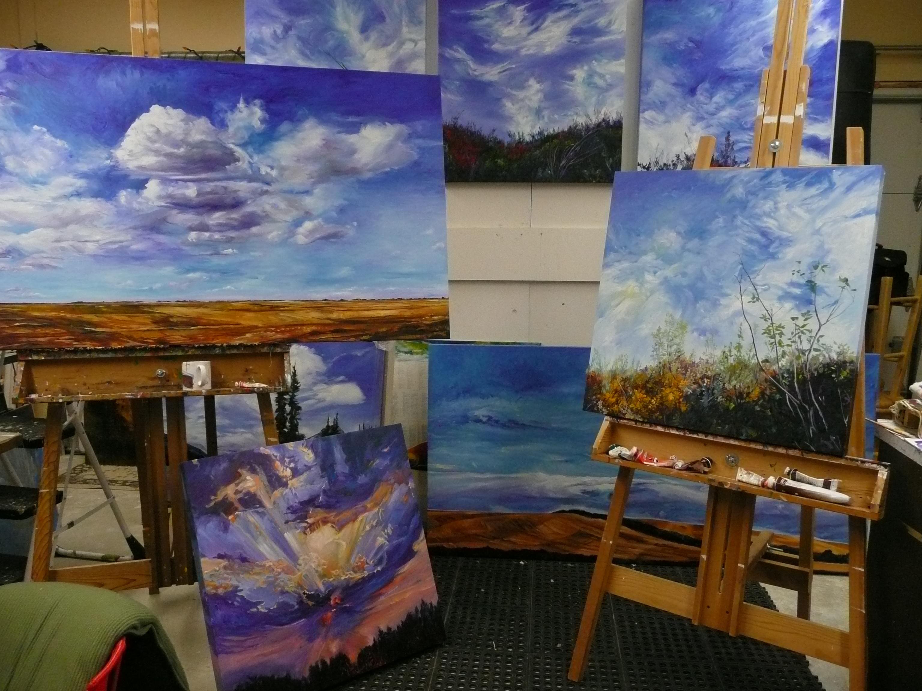 Heaven in My Studio
