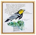 The Golden-Cheeked Warbler