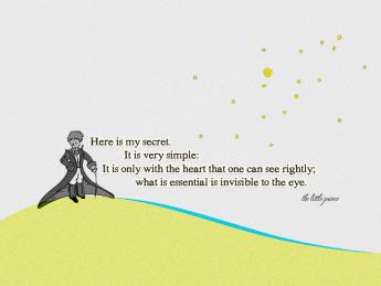 Quotes From The Little Prince By Antoine De Saint Exupery Bodyandsoulnourishmentblog