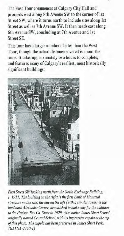 Central School, Calgary, 1911