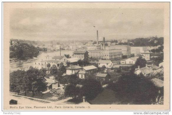 Penman's Post Card, Paris, Ontario