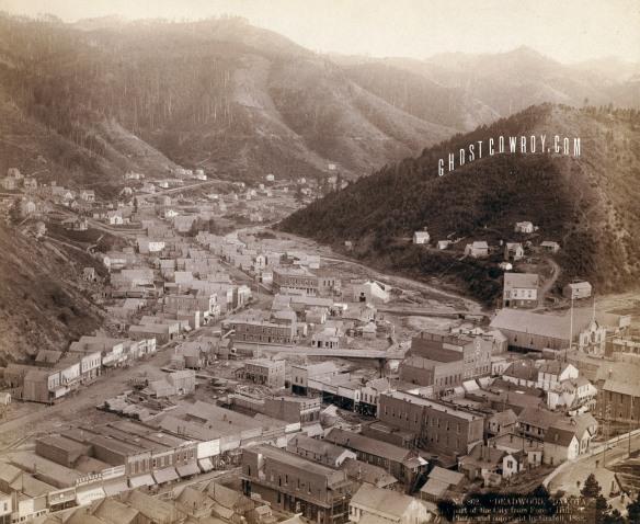 Deadwood. From Mt. Moriah 1888