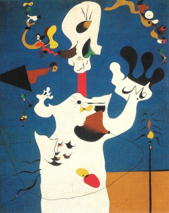 The Potato by Joan Miro, 1928