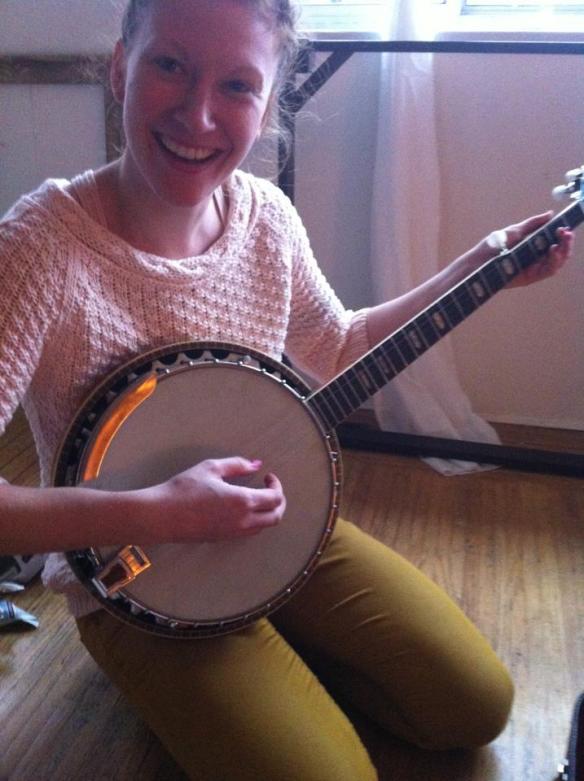 OH!  A banjo!!