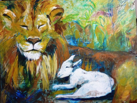 The Peaceable Kingdom based on Isaiah 11