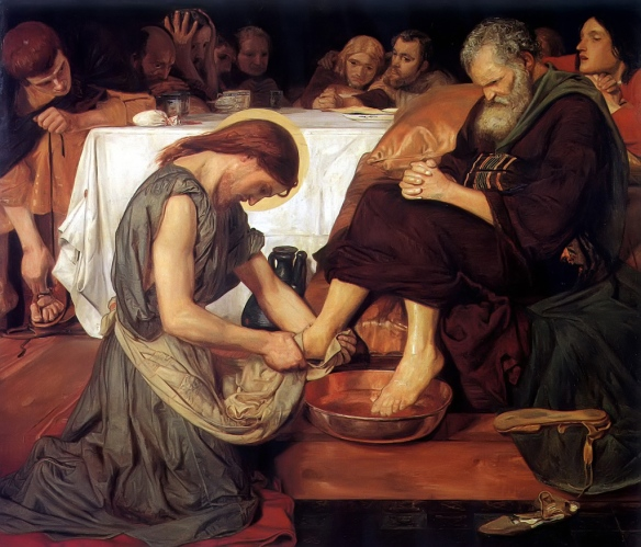 Painting by Ford Maddox Brown 1852-1856