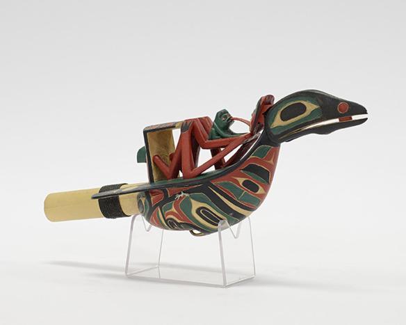 Raven Rattle by GERRY DUDOWARD