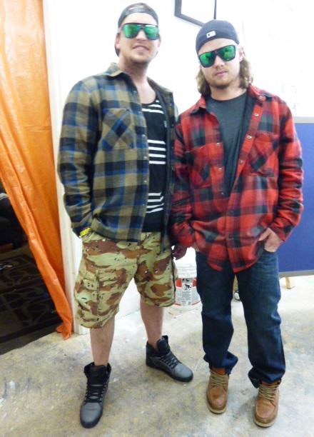 Ryan and Gabriel