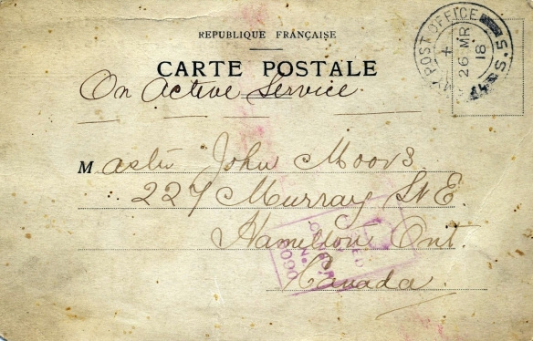 Post Card: Front