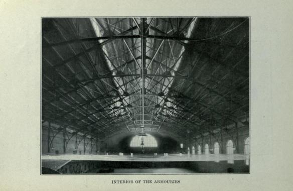 Hamilton Interior of Armouries