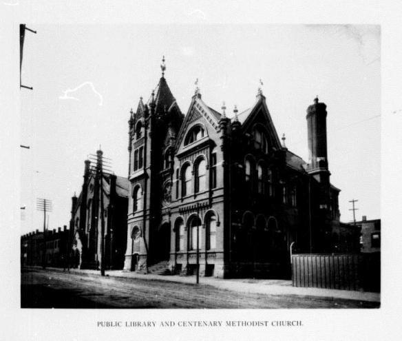 Hamilton Public Library and Centenary