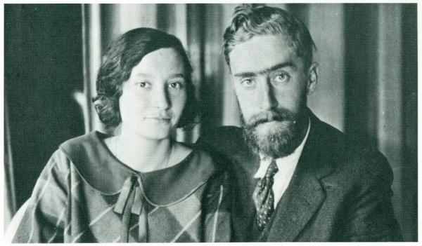 Escher e la moglie Jetta