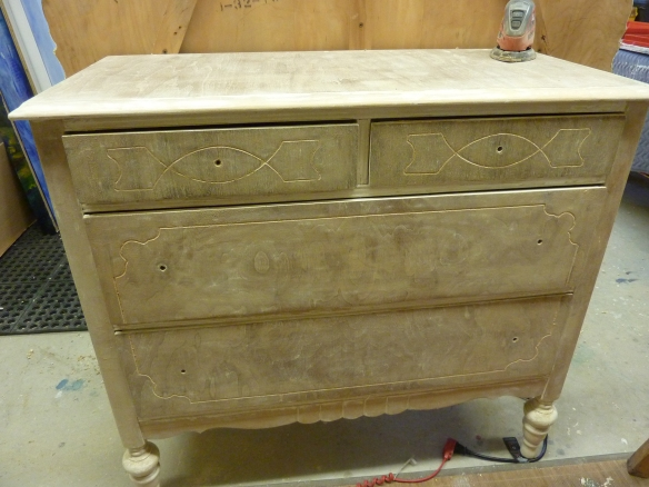 Four drawer dresser.