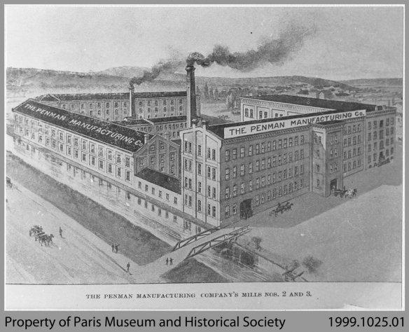 Penman's Mills Paris, Ontario