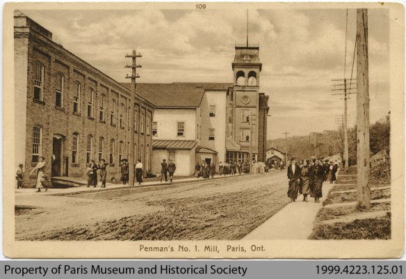 Penman's number 1 mill Paris Ontario