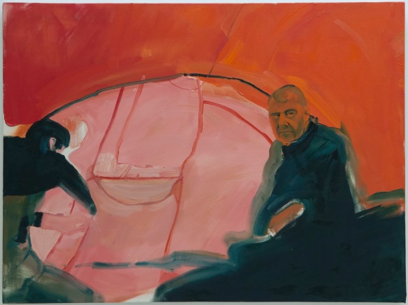 Brenda Draney. Tent, 2013, oil on canvas, 3′ x 4′. Photo credit Sarah Fuller.