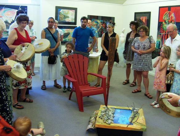Photo Credit: Carol Pretty Drum Circle Opening