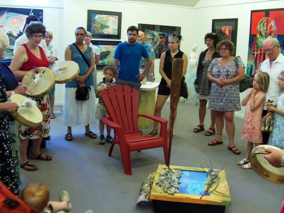 Photo Credit: Carol Pretty Drum Circle Opening
