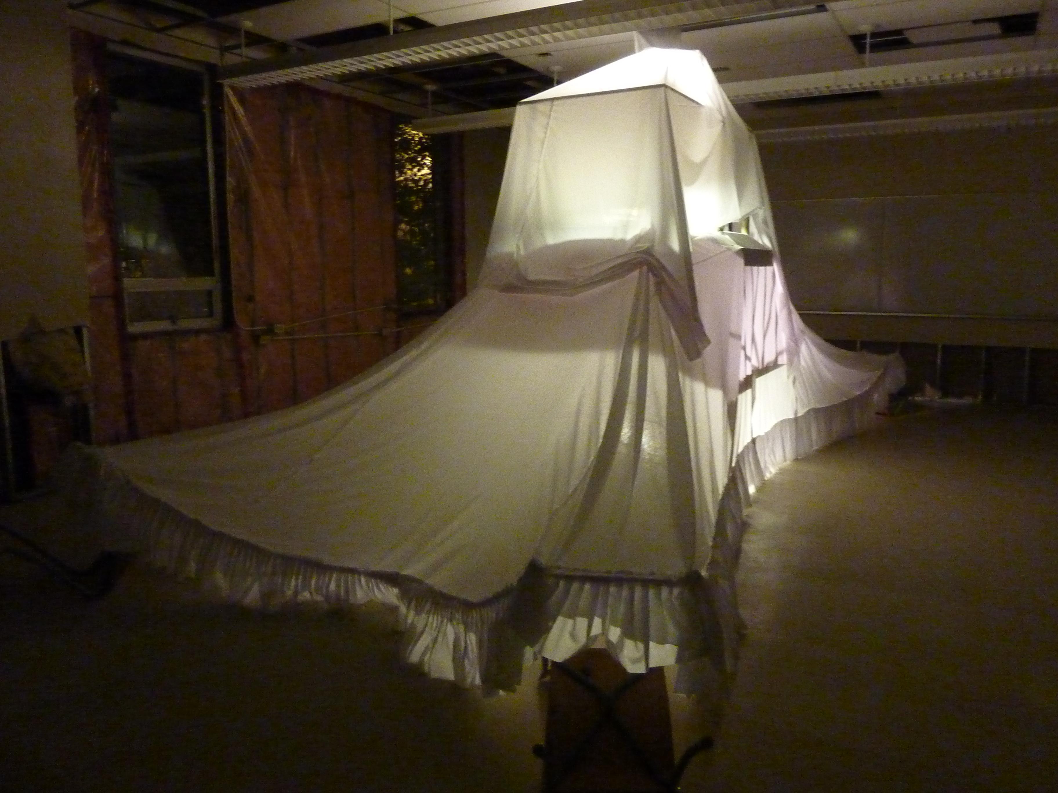 """Suzen Green and Yvonne Mullock's """"Politergeist"""" installation"""
