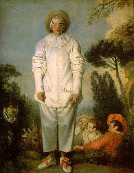 Watteau Pierrot 1