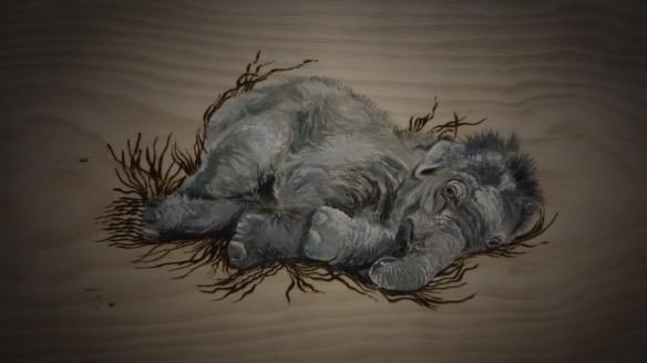 Nesting Elephant