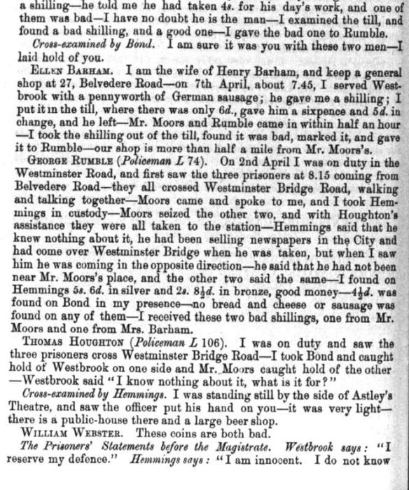 Page Three John Moors Shopkeeper