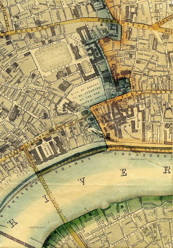 Map credit: Map Of London 1868, By Edward Weller, F.R.G.S. Revised And Corrected To The Present Time By John Dower, F.R.G.S.