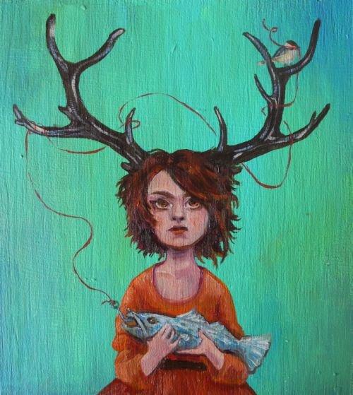 M. Graves Inspired Self Portrait 2013