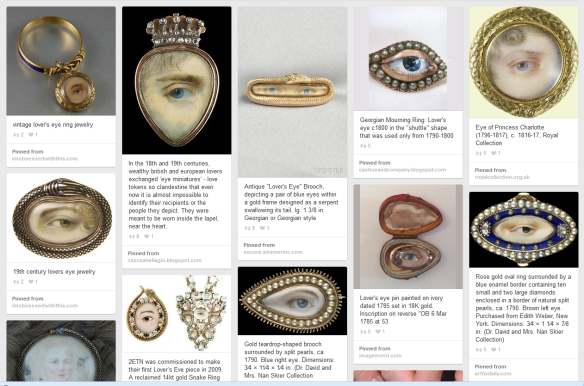Another snap from Pinterest: Eye Portraits.