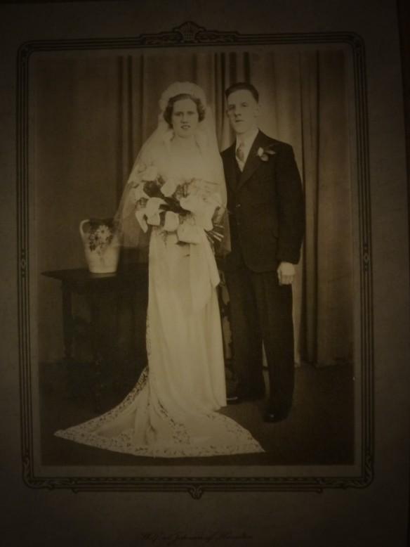Jessie McLean with Robert Alexander Moors of Hamilton, Ontario