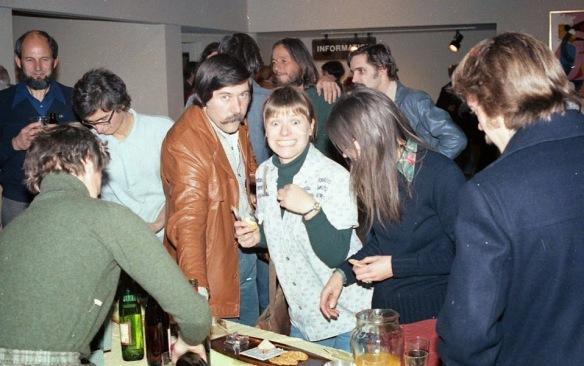 October 1977 Dennis Burton Opening: Charley, Ed, herb, Pat