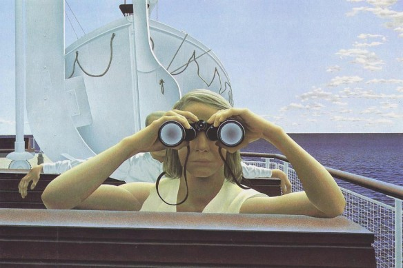 Alex Colville, To Prince Edward Island, painted in 1965
