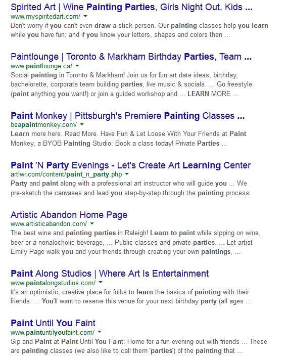 Paint Parties 2