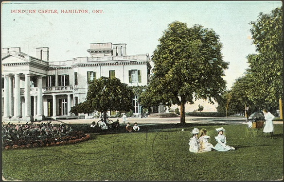 Dundurn Castle, Hamilton, 1910