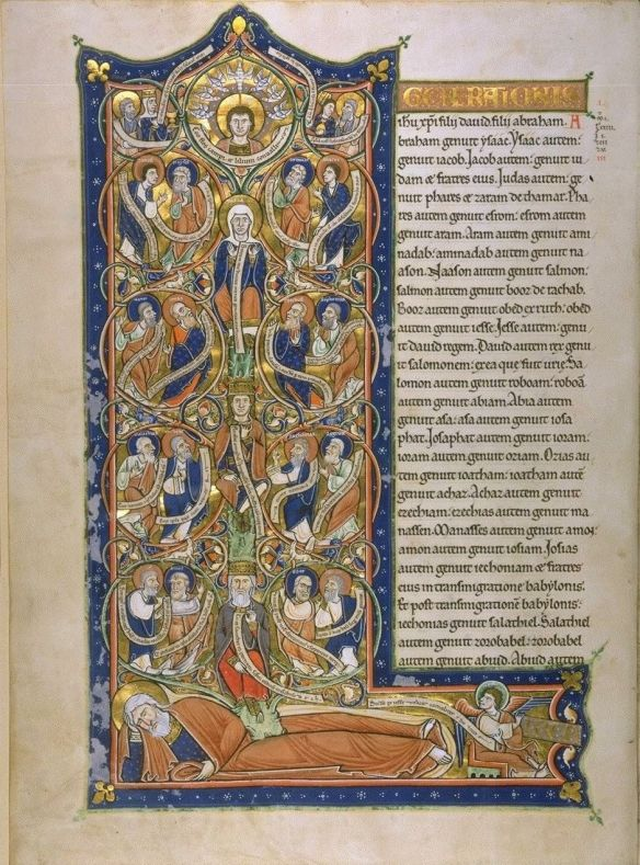 JesseTree Illuminated Manuscript