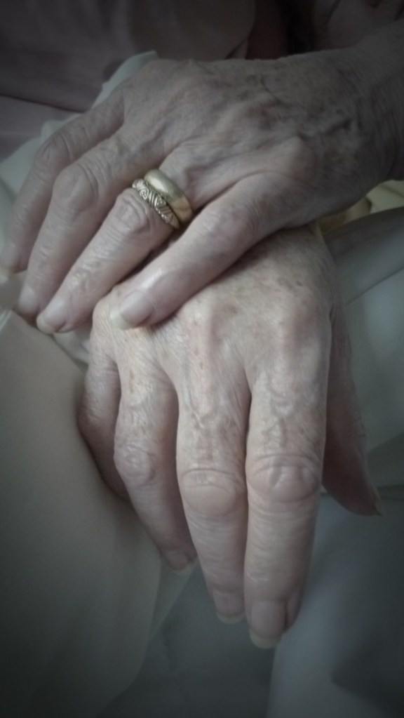 July 24, 2011 Mom's Hands in Morning