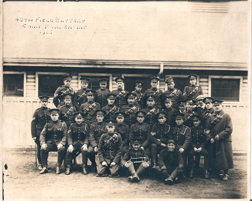 George Haddow 1915 Camp Borden