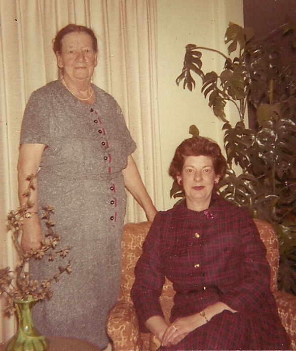 Rose Margaret with her sister, Grace