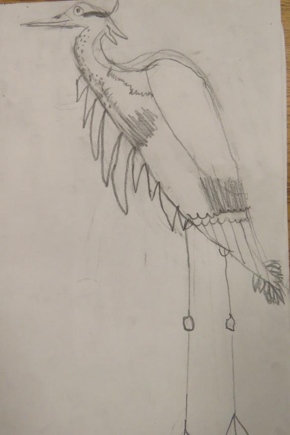 Kath's Canon, September 23, 2015 Heron Art Grade 4 Poundmaker 004