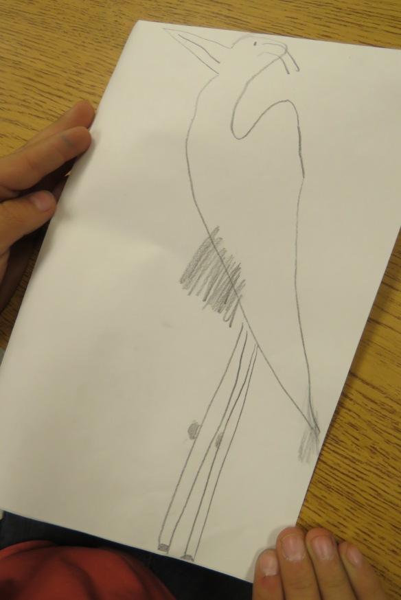 Kath's Canon, September 23, 2015 Heron Art Grade 4 Poundmaker 007