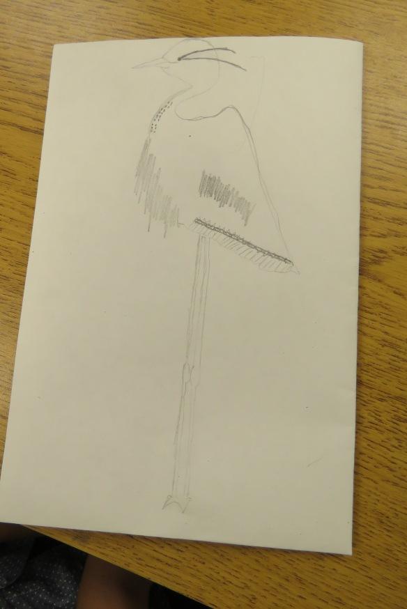 Kath's Canon, September 23, 2015 Heron Art Grade 4 Poundmaker 008