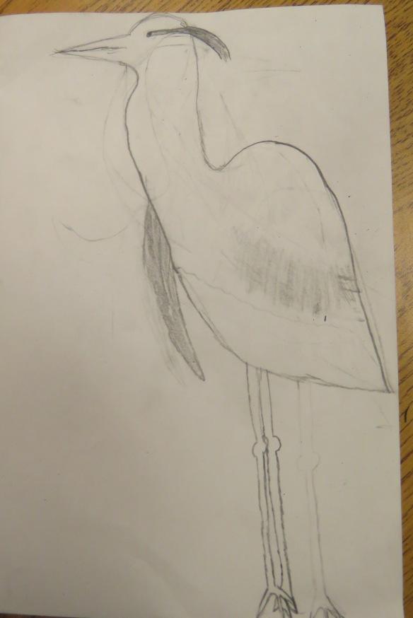 Kath's Canon, September 23, 2015 Heron Art Grade 4 Poundmaker 009