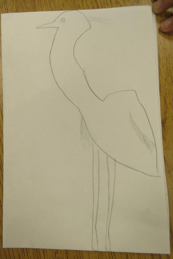 Kath's Canon, September 23, 2015 Heron Art Grade 4 Poundmaker 014