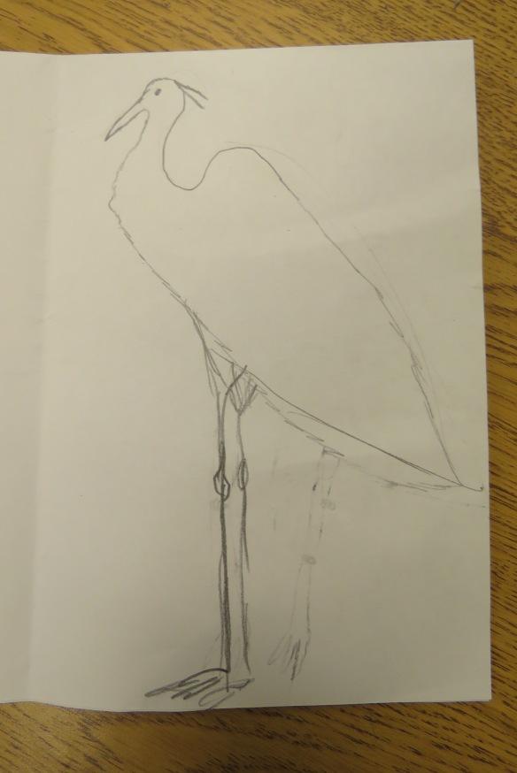 Kath's Canon, September 23, 2015 Heron Art Grade 4 Poundmaker 018