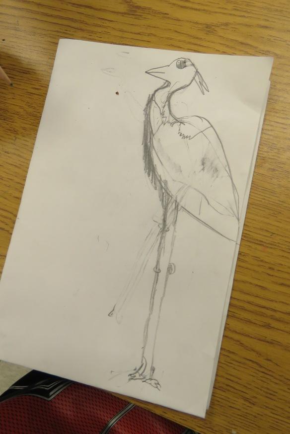Kath's Canon, September 23, 2015 Heron Art Grade 4 Poundmaker 022
