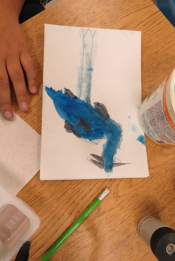 Kath's Canon, September 23, 2015 Heron Art Grade 4 Poundmaker 038