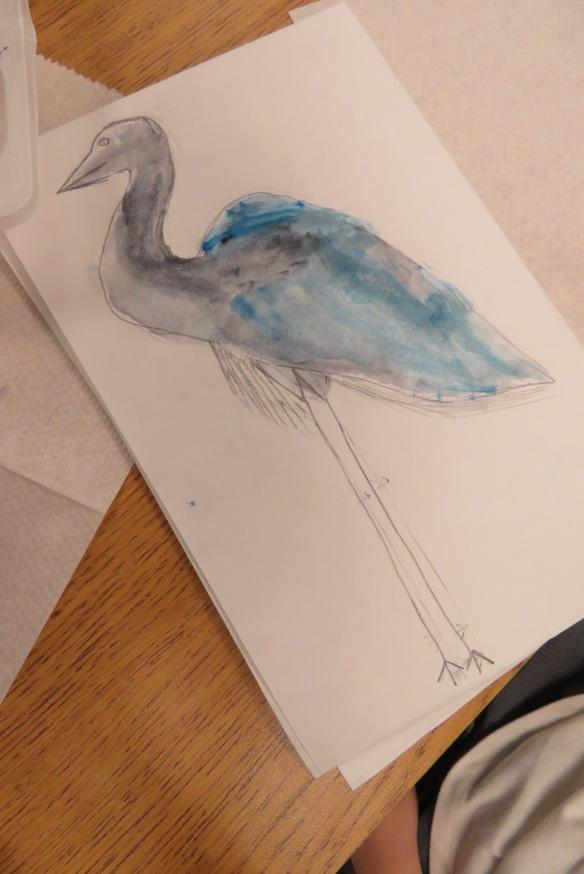Kath's Canon, September 23, 2015 Heron Art Grade 4 Poundmaker 039