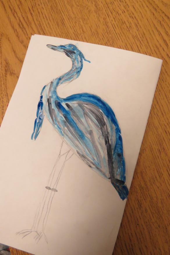Kath's Canon, September 23, 2015 Heron Art Grade 4 Poundmaker 041
