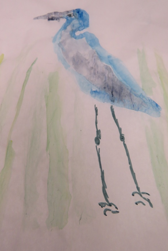 Kath's Canon, September 23, 2015 Heron Art Grade 4 Poundmaker 048