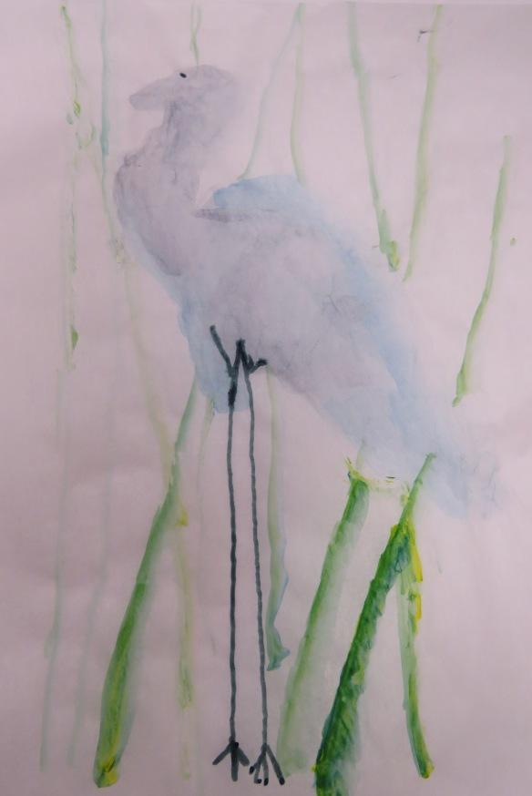 Kath's Canon, September 23, 2015 Heron Art Grade 4 Poundmaker 051